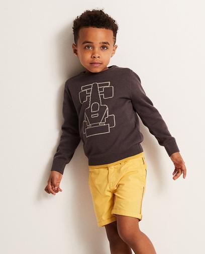 Sweatshirt mit Autoprint